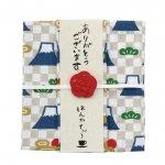 はんかちと紅茶のプチギフト☆はんかてぃ〜/富士山(ダージリン)