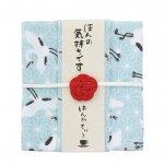 はんかちと紅茶のプチギフト☆はんかてぃ〜/鶴(アールグレイ)