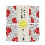 はんかちと紅茶のプチギフト☆はんかてぃ〜/鯛(アップルティ−)