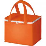 ノベルティ・粗品で人気の「不織布保冷ボックストート/オレンジ」