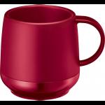 ノベルティ・粗品で人気の「プラサーモカフェマグ/レッド」