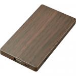 ノベルティ・粗品で人気の「 木目調モバイルチャージャー3000/ブラウン」