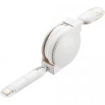 USBケーブル リール/ホワイト