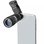 モバイル望遠レンズ/ブラック