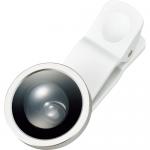 ノベルティ・粗品で人気の「 モバイルカメラレンズ スーパーワイド ver.2/ホワイト」
