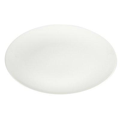 ノベルティ・粗品で人気の「【国産】丸皿(197mm)(白)」