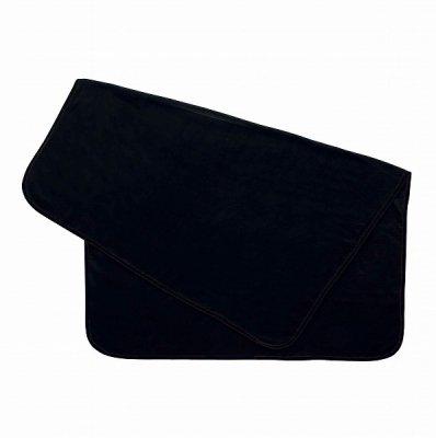ノベルティ・粗品で人気の「スムースフリースブランケット(L)/ブラック」