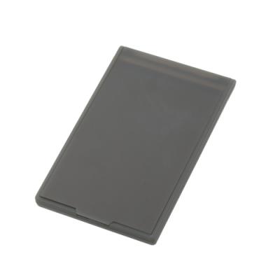 ノベルティ・粗品で人気の「ポケットミラー フロスト/ブラック(フルカラー印刷費用含む)」