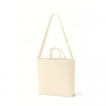 ノベルティ・粗品で人気の「 キャンバスWスタイルバッグ インナーポケット付 ナチュラル」