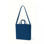 ノベルティ・粗品で人気の「 キャンバスWスタイルバッグ インナーポケット付 ミッドナイトブルー」
