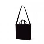 ノベルティ・粗品で人気の「 キャンバスWスタイルバッグ インナーポケット付 ナイトブラック」