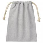 ノベルティ・粗品で人気の「シャンブリック巾着(M) グレー」