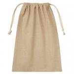 ノベルティ・粗品で人気の「シャンブリック巾着(L) ベージュ」