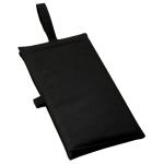 ノベルティ・粗品で人気の「バッグにもなるシートクッション インクブラック」