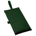 ノベルティ・粗品で人気の「バッグにもなるシートクッション ダークグリーン」