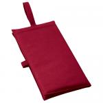 ノベルティ・粗品で人気の「バッグにもなるシートクッション ワインレッド」