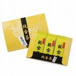 ノベルティ・粗品で人気の「純金茶(2g×3個)」