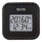 ノベルティ・粗品で人気の「タニタ デジタル温湿度計1台(ブラック)」