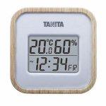 ノベルティ・粗品で人気の「タニタ デジタル温湿度計1台(ナチュラル)」