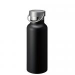 ノベルティ・粗品で人気の「メタルハンドルサーモボトル/ブラック」