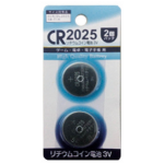リチウム電池CR2025 2P