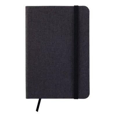 ノベルティ・粗品で人気の「ファブリックノートブック(ブラック)」