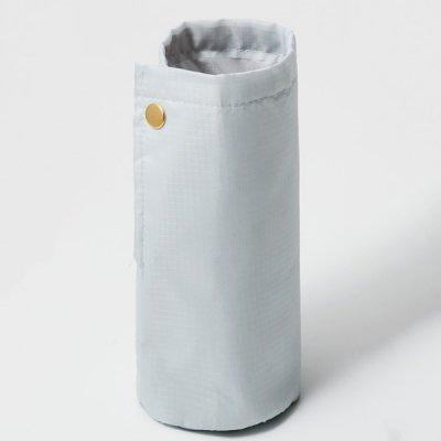 ノベルティ・粗品で人気の「 テントクロス 2WAY保冷温ボトルホルダー(グレー)」