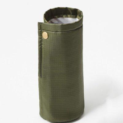 ノベルティ・粗品で人気の「 テントクロス 2WAY保冷温ボトルホルダー(オリーブ)」