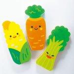 ノベルティ・粗品で人気の「底まで洗える 野菜さんロングスポンジ 1個」