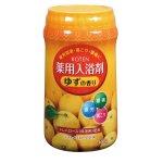 ノベルティ・粗品で人気の「 【国産】ROTEN 薬用入浴剤 ゆずの香り(ボトル)680g」