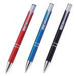 ノベルティ・粗品で人気の「メタリックアルミボールペン 1個」