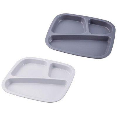 ノベルティ・粗品で人気の「メラミン食器 仕切り付プレート角型 1個」