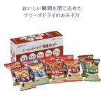 【国産】アマノフーズ いつものおみそ汁 5種セット10食