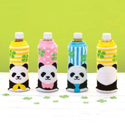 ノベルティ・粗品で人気の「パンダさん ペットボトルカバー 1個」