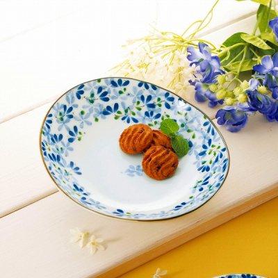 ノベルティ・粗品で人気の「 【国産】めばえ・楕円皿」