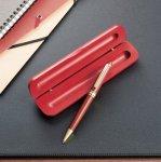 【期間限定特価】ケース入り木製ボールペン