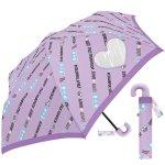 ノベルティ・粗品で人気の「 50CM子供折傘 カラフルスタイル (パープル) 」