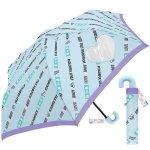 ノベルティ・粗品で人気の「 50CM子供折傘 カラフルスタイル (ライトブルー) 」