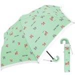 ノベルティ・粗品で人気の「 50CM子供折傘 ゴーゴーシバ (ミントブルー) 」
