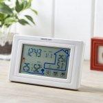 ノベルティ・粗品で人気の「 ワイヤレス室外温湿度計付クロック」