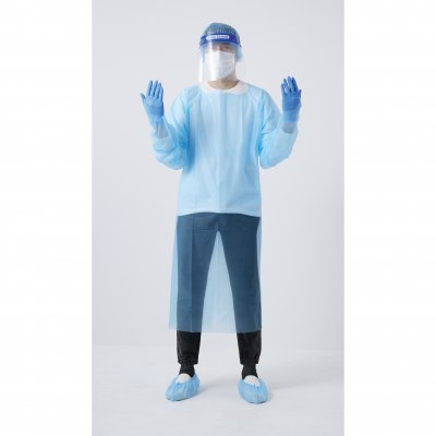 ノベルティ・粗品で人気の「感染防止キットA6点セット」