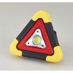 ノベルティ・粗品で人気の「 三角停止板型 緊急COBライト」