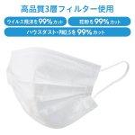 ノベルティ・粗品で人気の「 3層構造不織布マスク(個包装)」