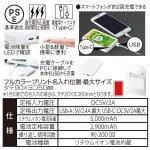 ノベルティ・粗品で人気の「 急速充電対応フラットモバイルバッテリー5000」