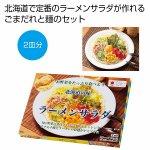 ノベルティ・粗品で人気の「 北海道の味 ごまだれラーメンサラダ2皿分」