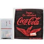ノベルティ・粗品で人気の「コカ・コーラ ウイング ウオッシュタオル(ポケット付ごあいさつ袋入)」