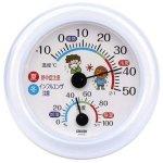 ノベルティ・粗品で人気の「温湿度計 熱中症・インフルエンザ・風邪対策」