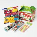 ノベルティ・粗品で人気の「 クリスマスボックス お菓子5点セット」