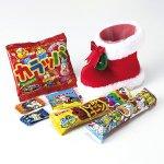 ノベルティ・粗品で人気の「 クリスマス ブーツ  お菓子6点セット」