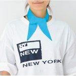 ノベルティ・粗品で人気の「ベーシック クールスカーフ ライトブルー」